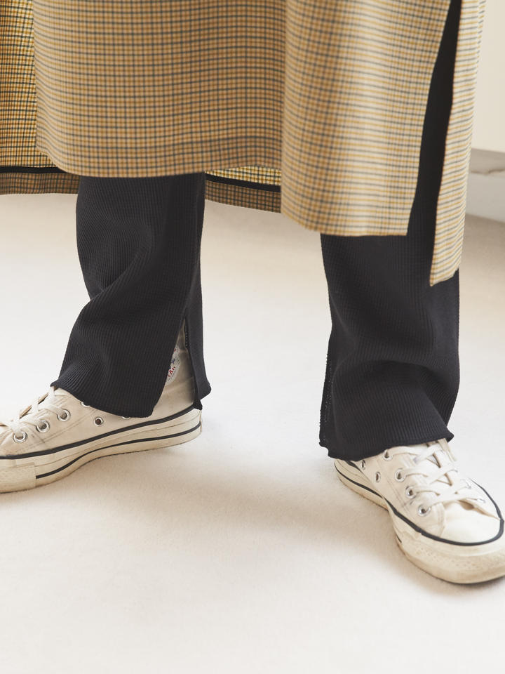 靴下屋 縫製サーマルスリット11分丈レギンス