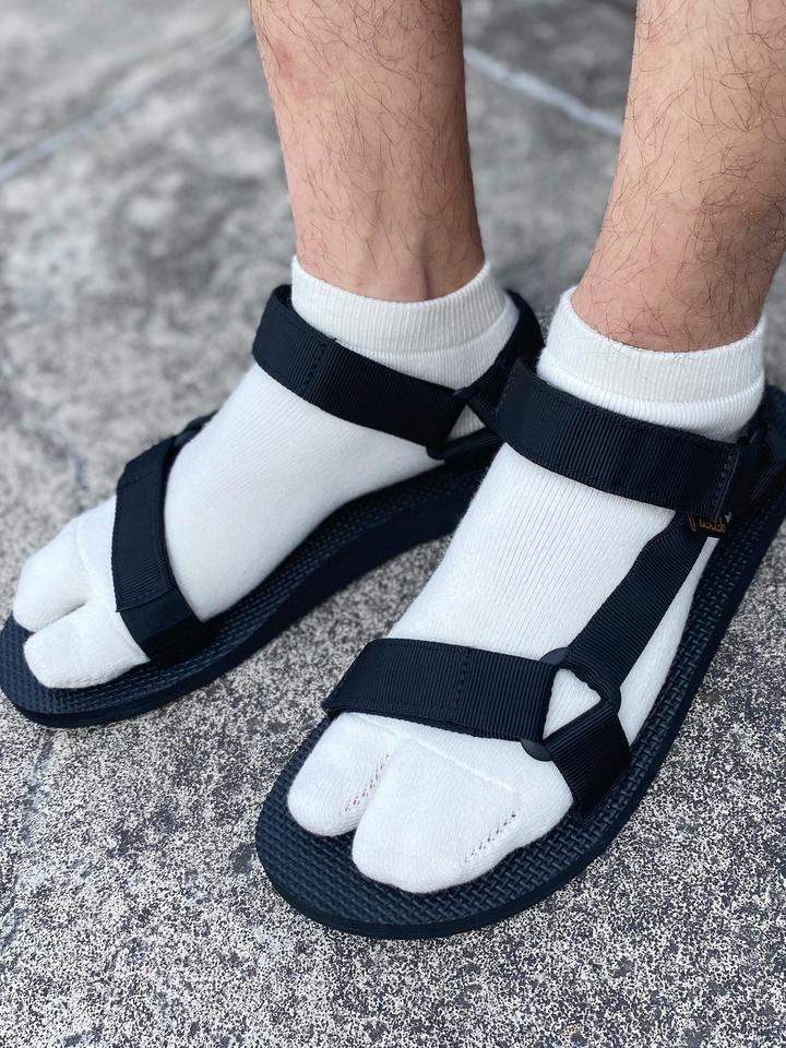 靴下屋 Tabio メンズ 無地足袋スニーカー用ソックス